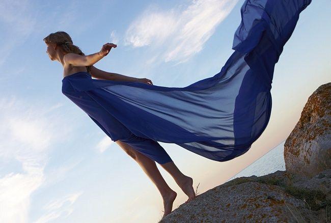 Цвет небесный синий цвет полюбил
