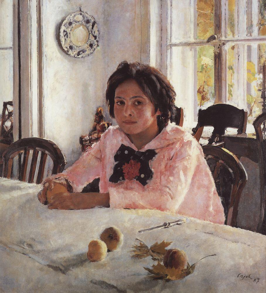 Девочка с персиками - начало зарождения великого портретиста.